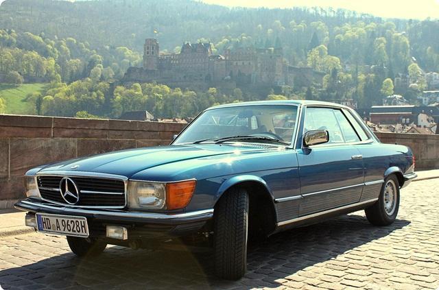 Mercedes Sl Coupe Slc Pro Woche Mieten